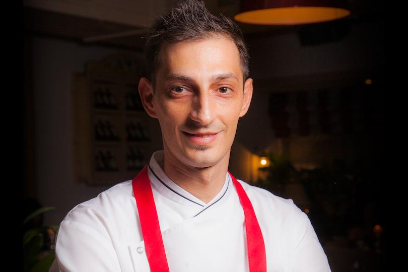 Шеф-повар ресторана Джузеппе Дави