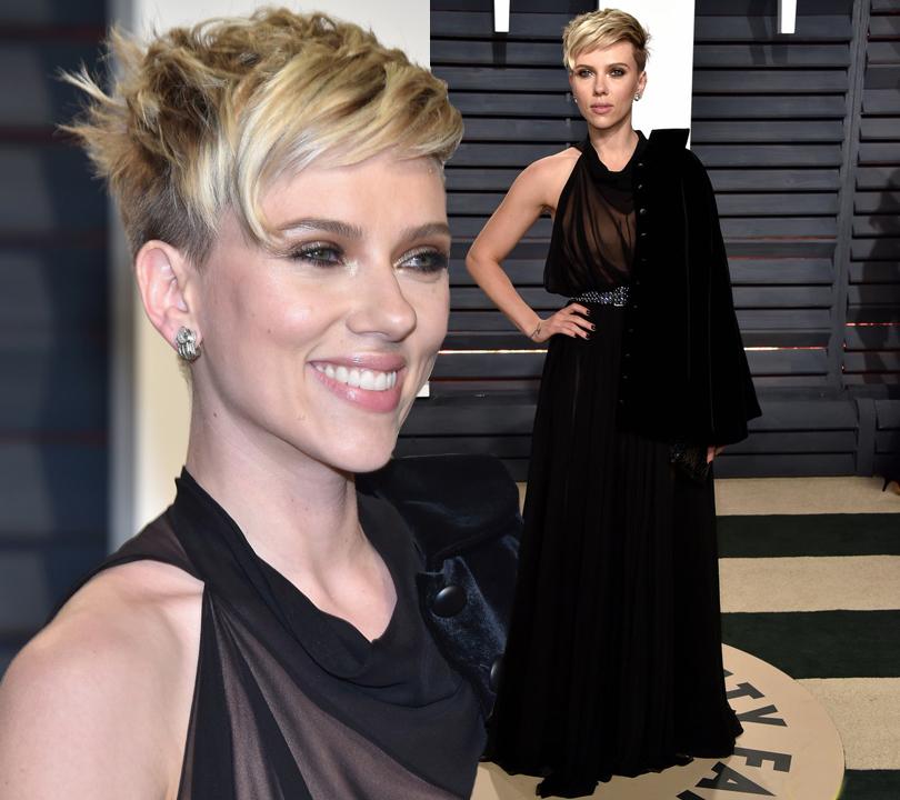 И образ для вечеринки Vanity Fair Oscar Party