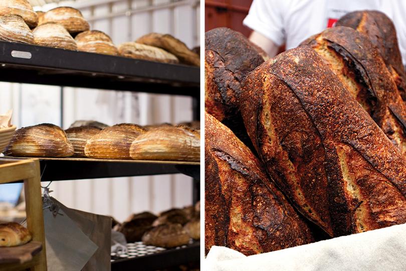 Пекарня E5в Лондоне. Пекарня She Wolf Bakery вНью-Йорке