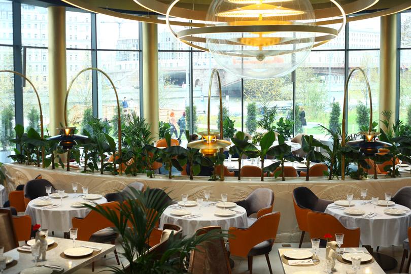 Новый ресторан: «Восход» в парке «Зарядье»