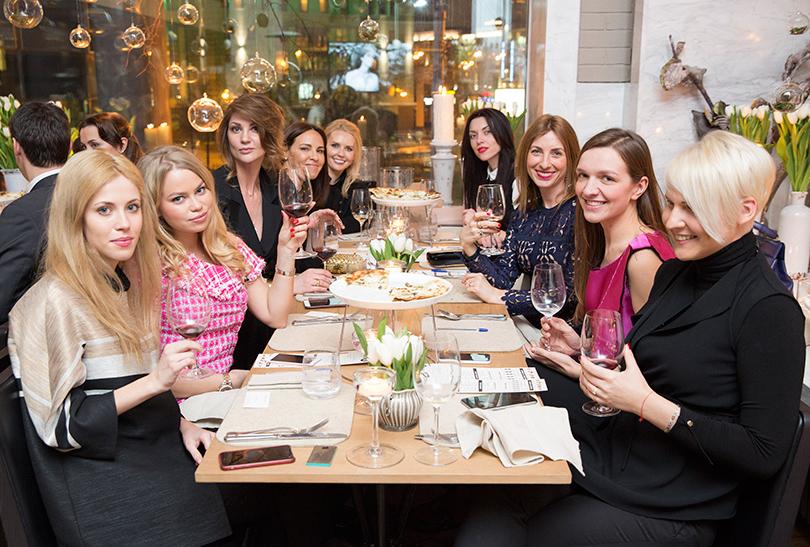 Posta Club: бизнес-ужин Bvlgari Hotels & Resorts и Posta-Magazine в ресторане Mushrooms