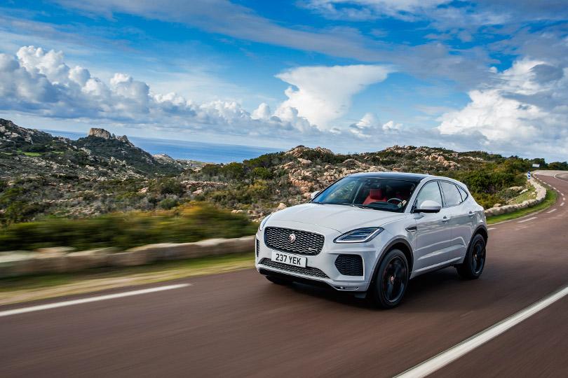 Авто сЯном Коомансом: тест-драйв нового Jaguar E-Pace назнаменитых дорогах Корсики