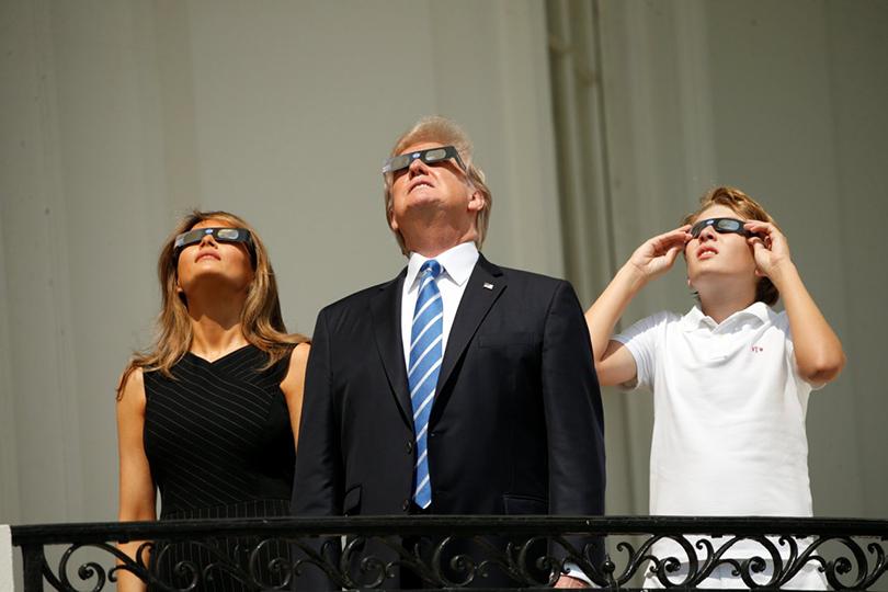 Как это было: солнечное затмение вСША