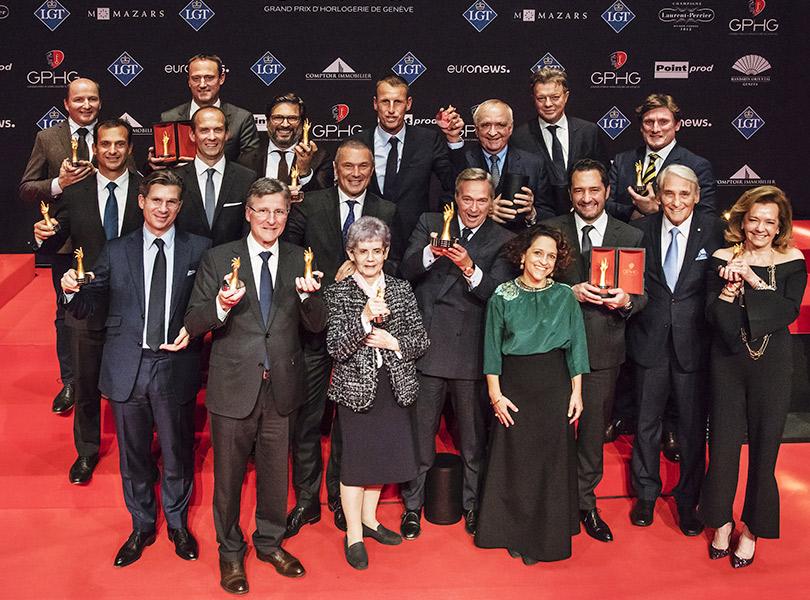 Grand Prix d'Horlogerie deGenève 2017: вЖеневе вручены премии ежегодного часового «Оскара»