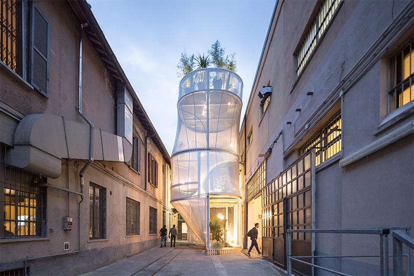 MINI представил футуристическую инсталляцию на Неделе дизайна в Милане