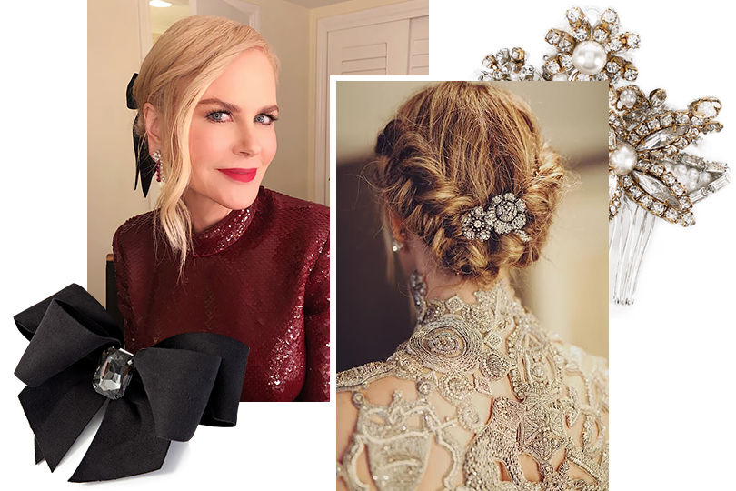 Posta-Бижу. По следам «Золотого глобуса»: где искать самые красивые украшения для волос?