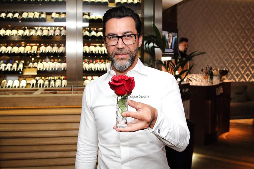 ВМоскву приезжал Кике Дакоста, мировая гастрономическая звезда, шеф-повар ресторана Quique Dacosta иодин изсамых изобретательных шефов мира