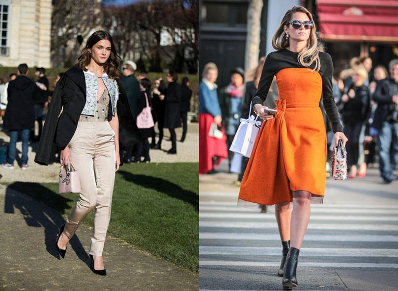 Street Style: хроники уличной моды на Неделе Haute Couture в Париже: Сэй Беннетт, Хелен Бордон