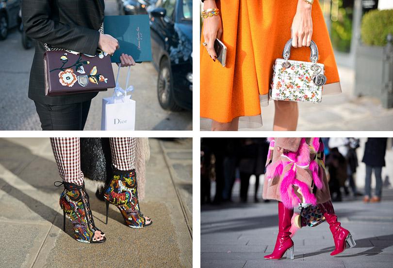 Street Style: хроники уличной моды на Неделе Haute Couture в Париже