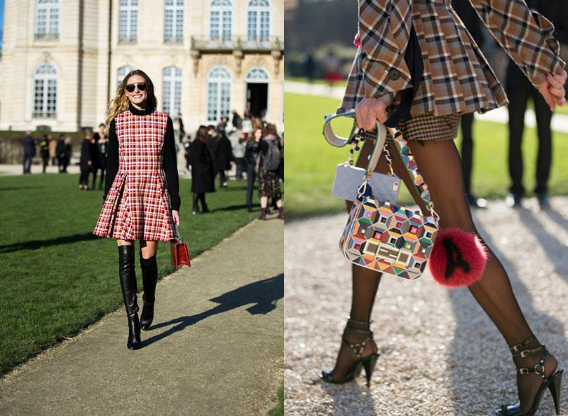 Street Style: хроники уличной моды на Неделе Haute Couture в Париже: Оливия Палермо
