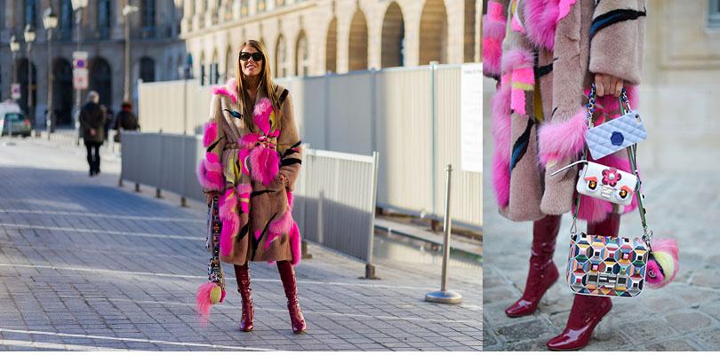 Street Style: хроники уличной моды на Неделе Haute Couture в Париже: Анна Делло Руссо