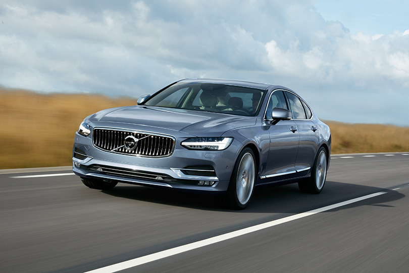 Official pictures ofthe new Volvo S90