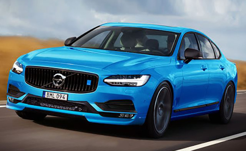 Rendered image ofwhat apossible S90 polestar will probably look like