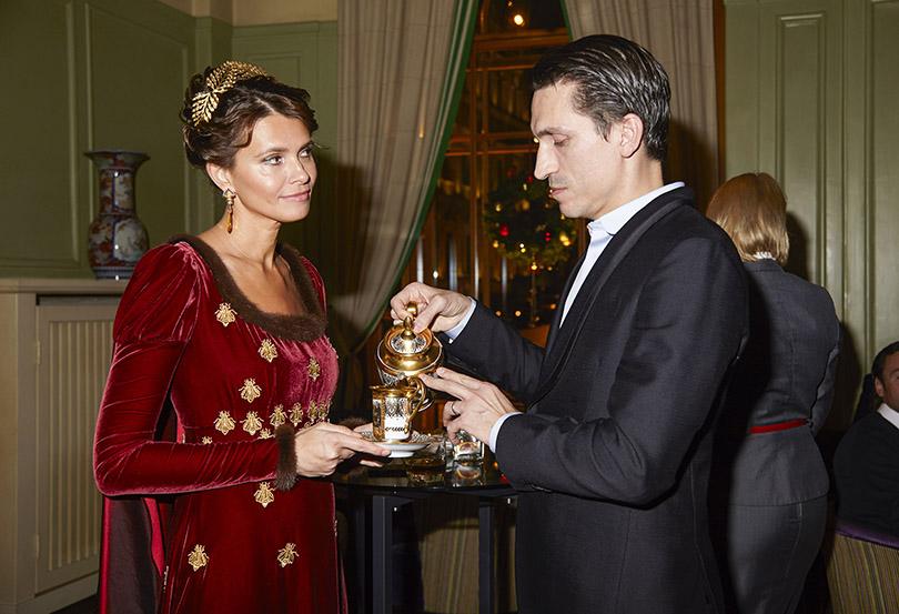 Анна Бронстрем и Илья Давыдов (Fendi)
