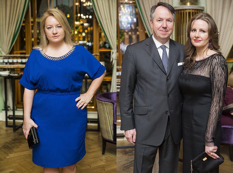 Главный редактор Posta-Magazine Татьяна Сабуренкова, Генеральный директор отеля Astoria Герольд Хельд